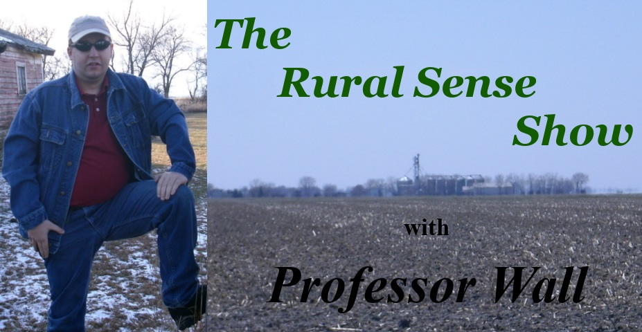 The Rural Sense Show Title Card by Professor Wall